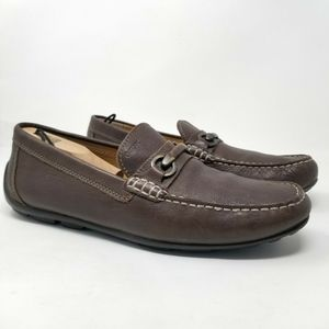 GEOX Respira Men's Double Fitting Leather Loafer